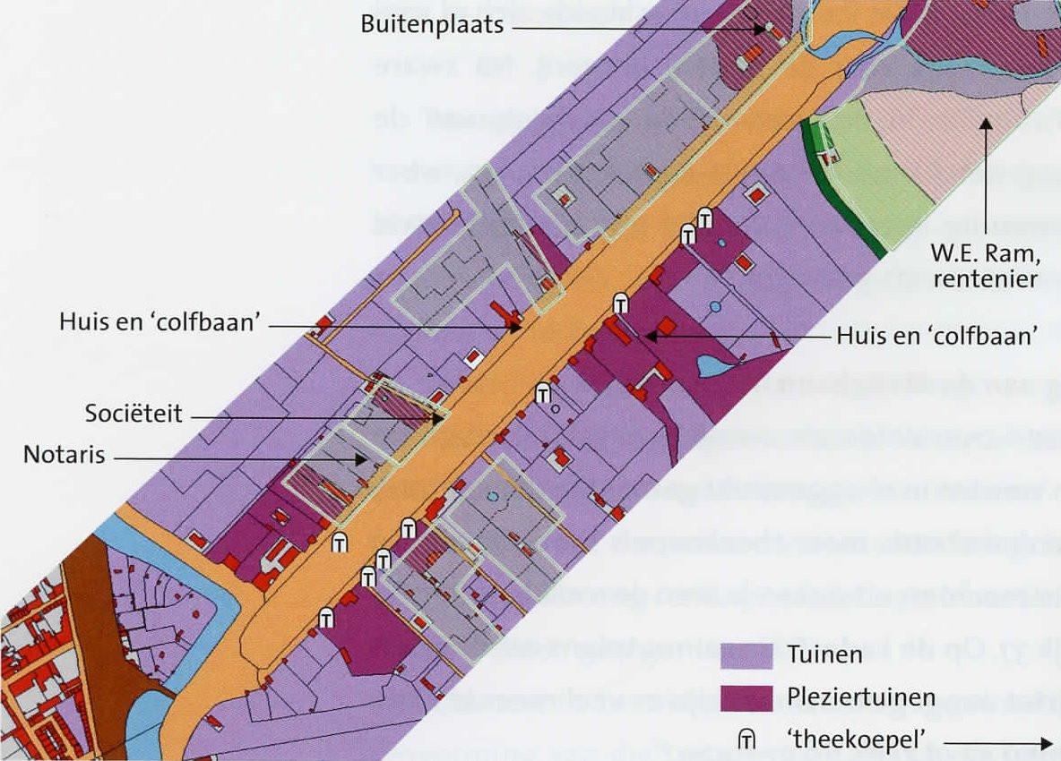 Maliebaan Utrecht. 1832