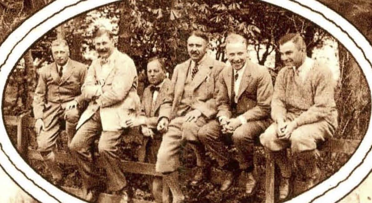 A.A. Diemer Kool; W. Boissevain; P. Verschuyl; W. van Waveren; W. Looman; J. Heyse - 1924