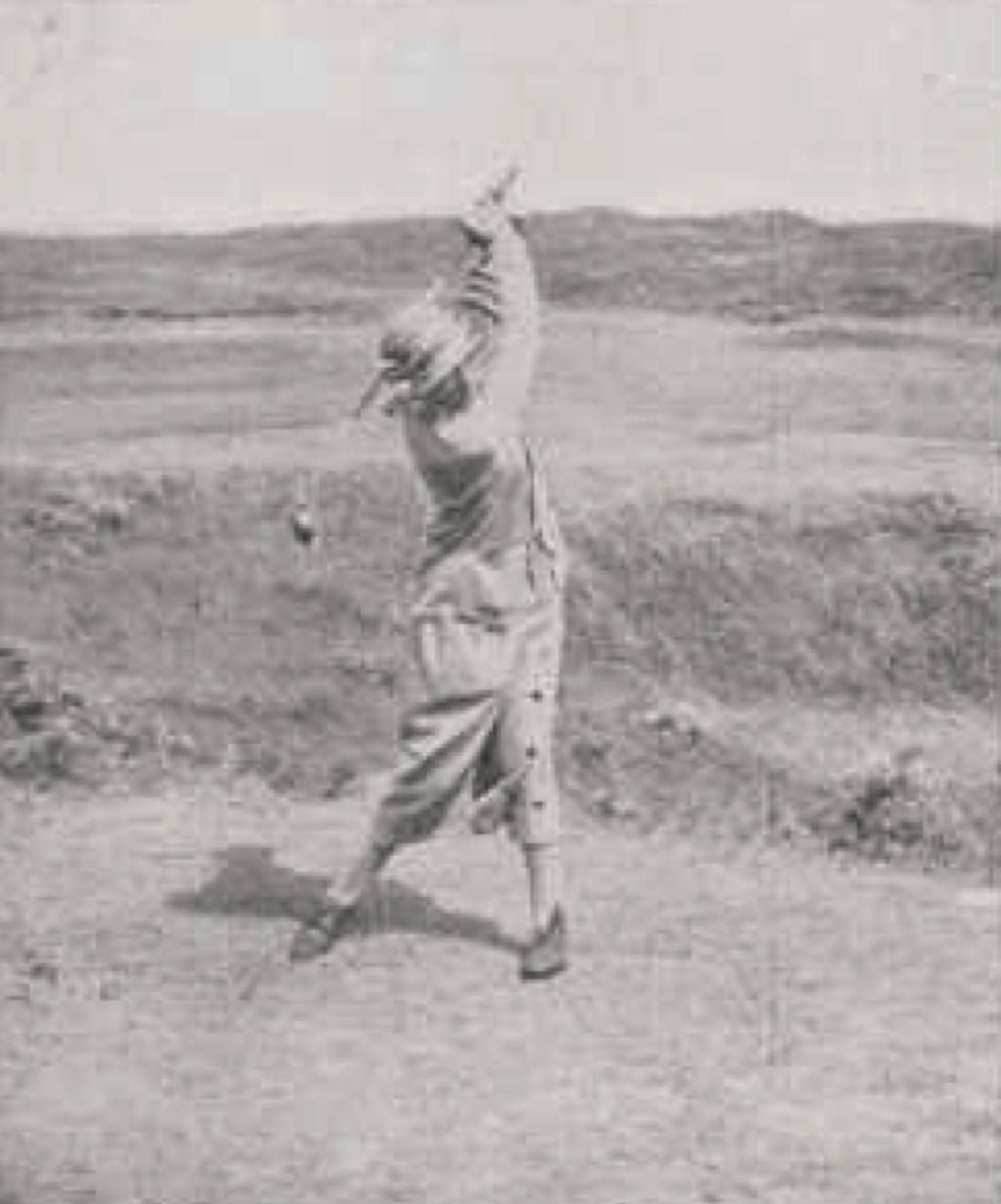 B. van Tienhoven; dameskampioen - 1926