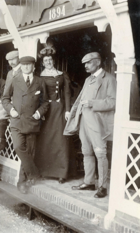 Arnoud en Daisy van Brienen - 1897