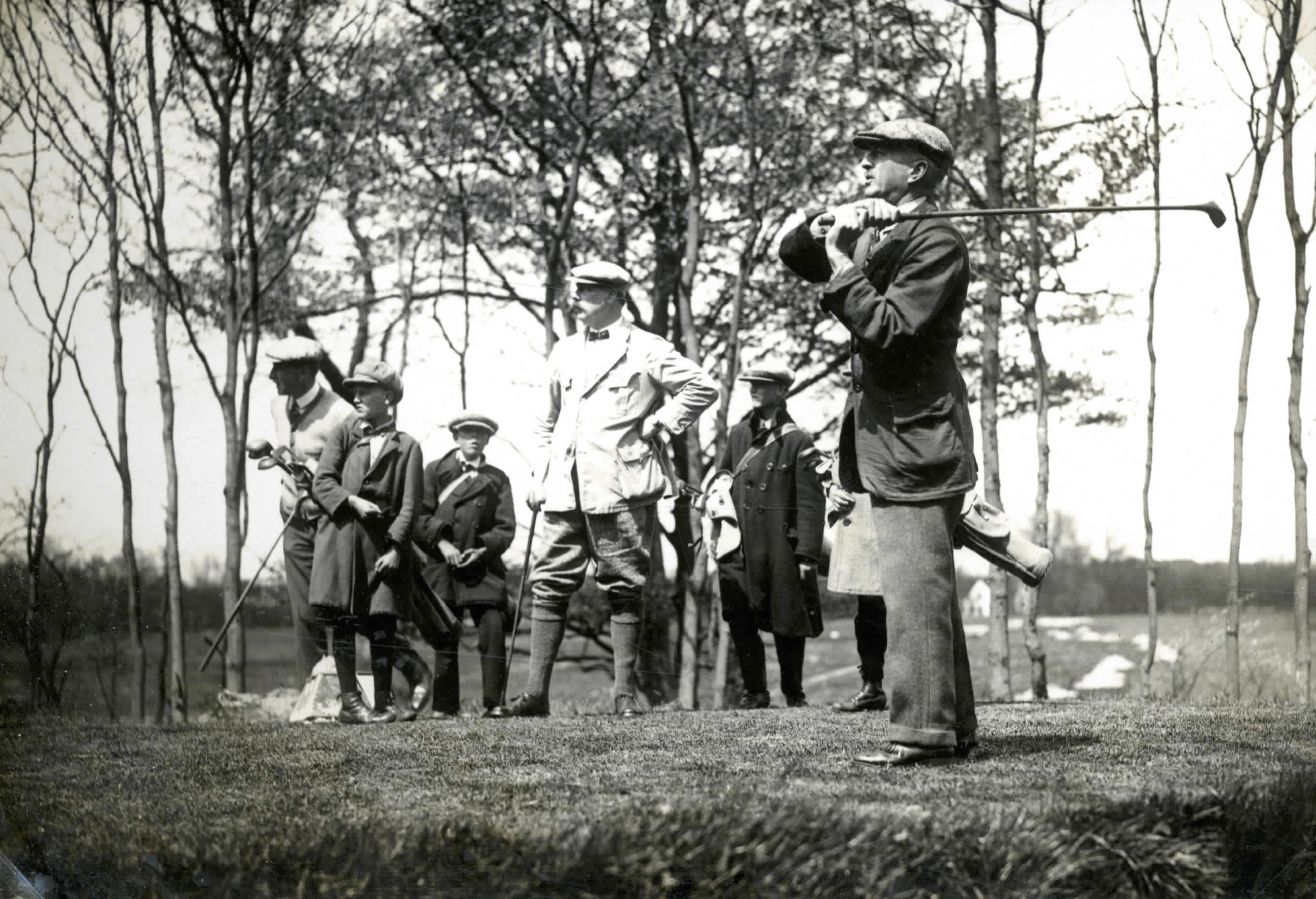 Bn. de Molembaix drivende; Boissevain - 1924