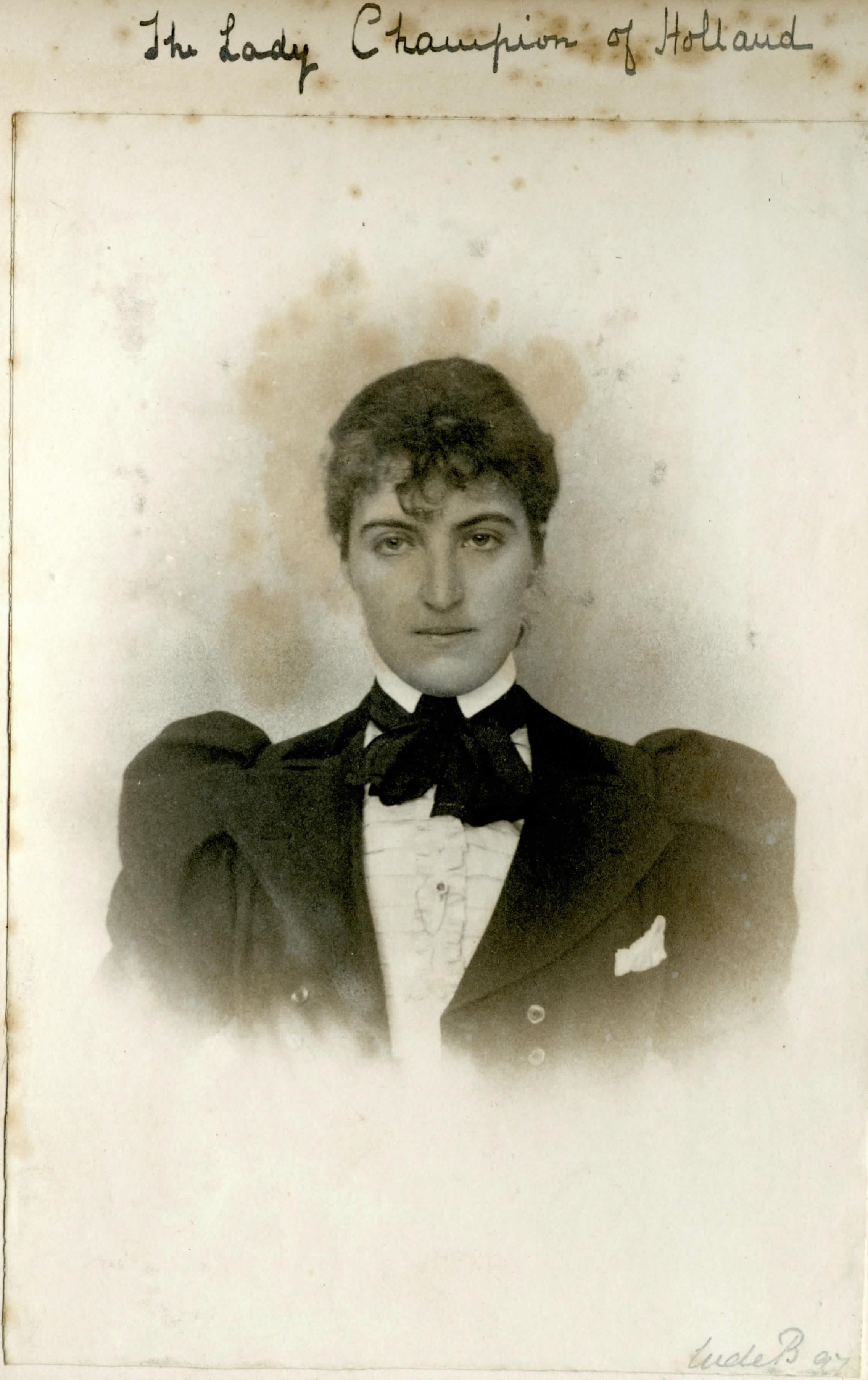 Daisy van Brienen - 1898