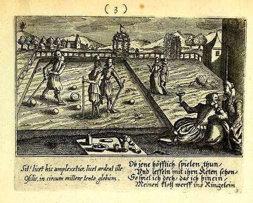 Anoniem, Beugelen, 'Kolven door den beugel'. 1650