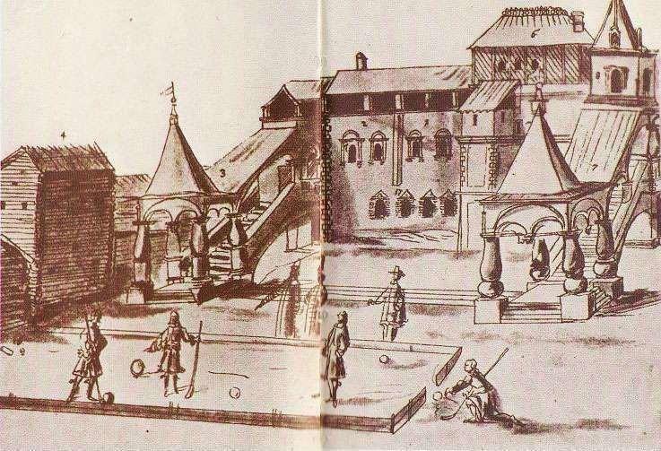 Baron Augustine Meyerberg, Beugelen, 'Kolven door den beugel'. 1611