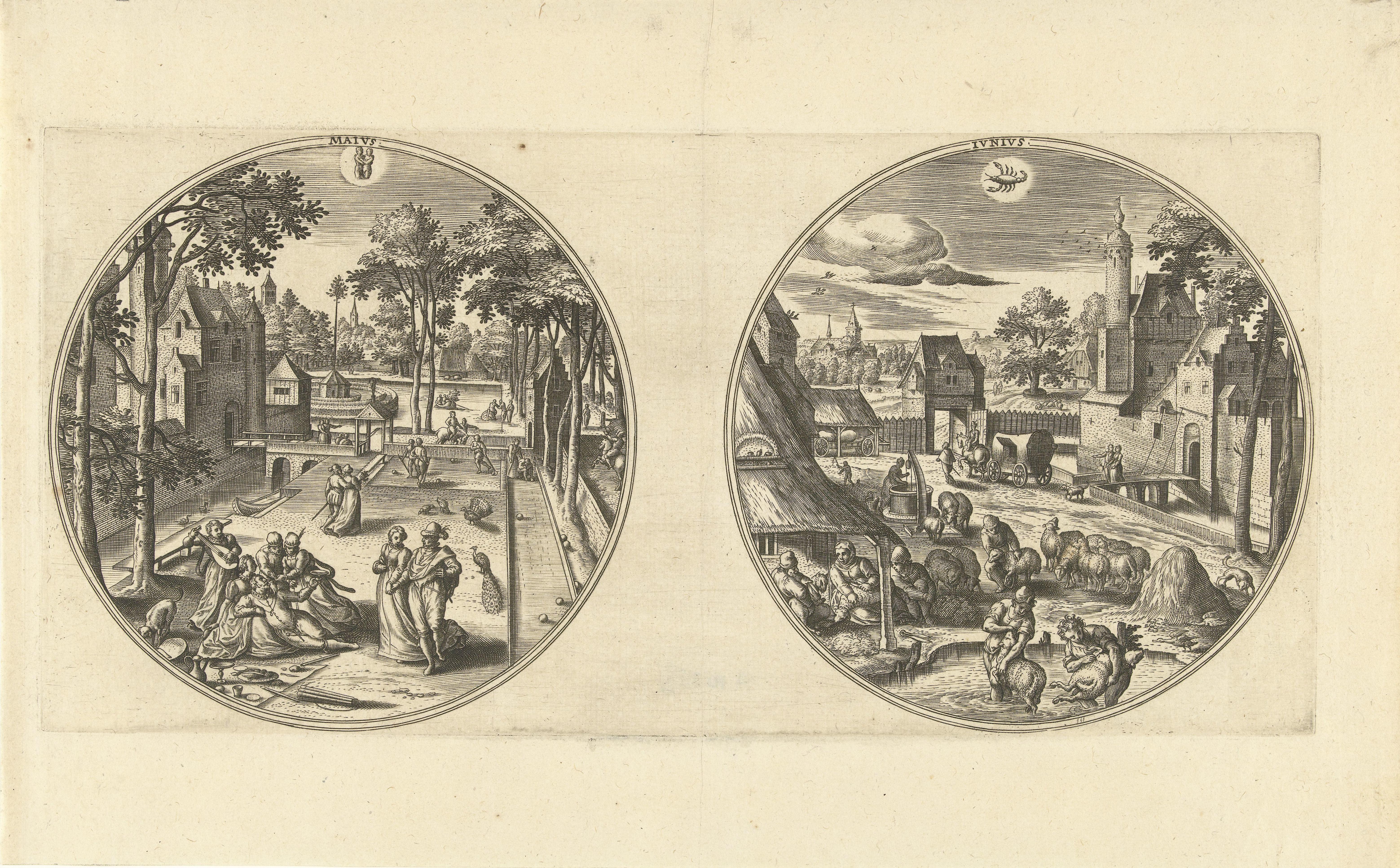 Adriaen Collaert, Beugelen. 1578-1582
