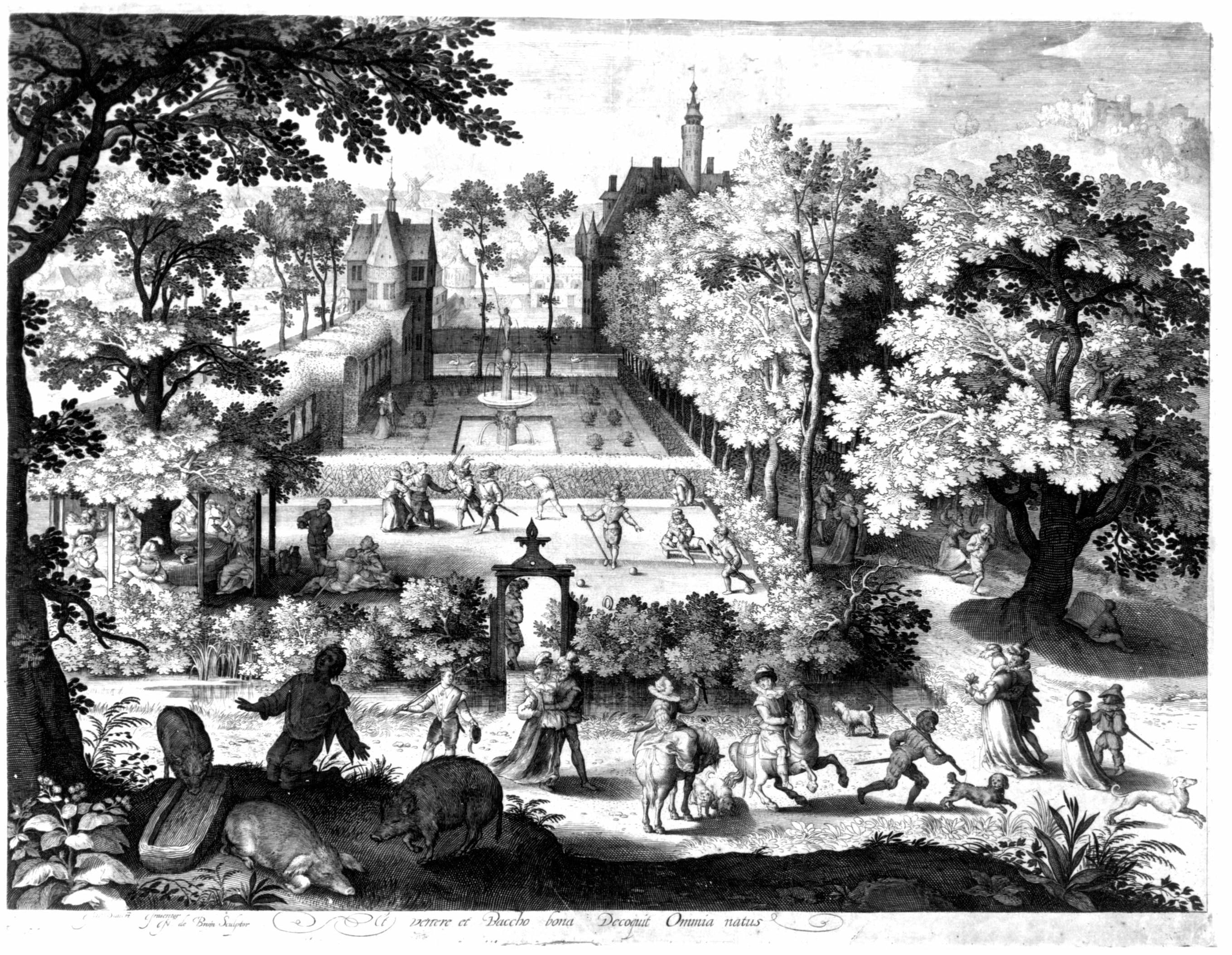 Nicolaes de Bruyn, Klossen