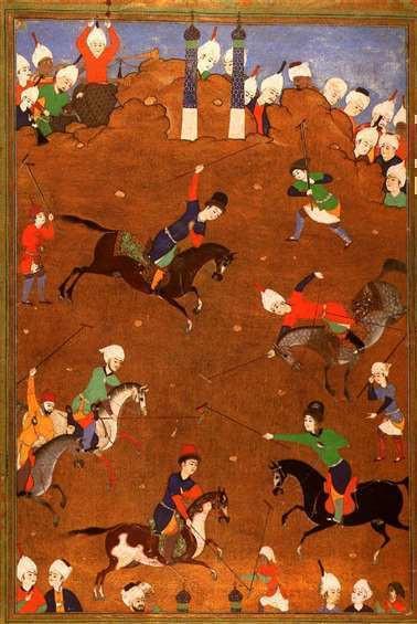 Anoniem, Suigan (of Chuiwan) ofwel Perzisch polo