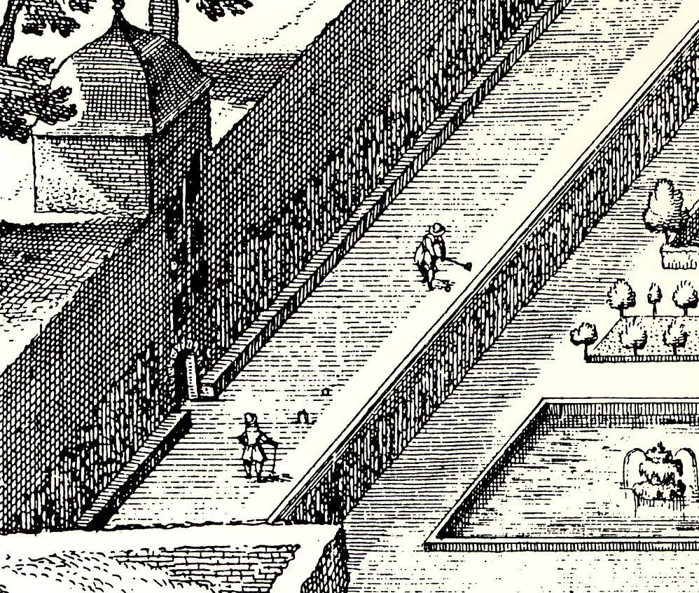 Maliebaan Heidelberg, Deutschland. 1620