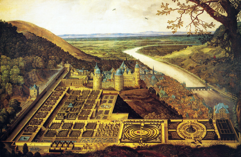 Maliebaan Heidelberg, Deutschland. Ca. 1620