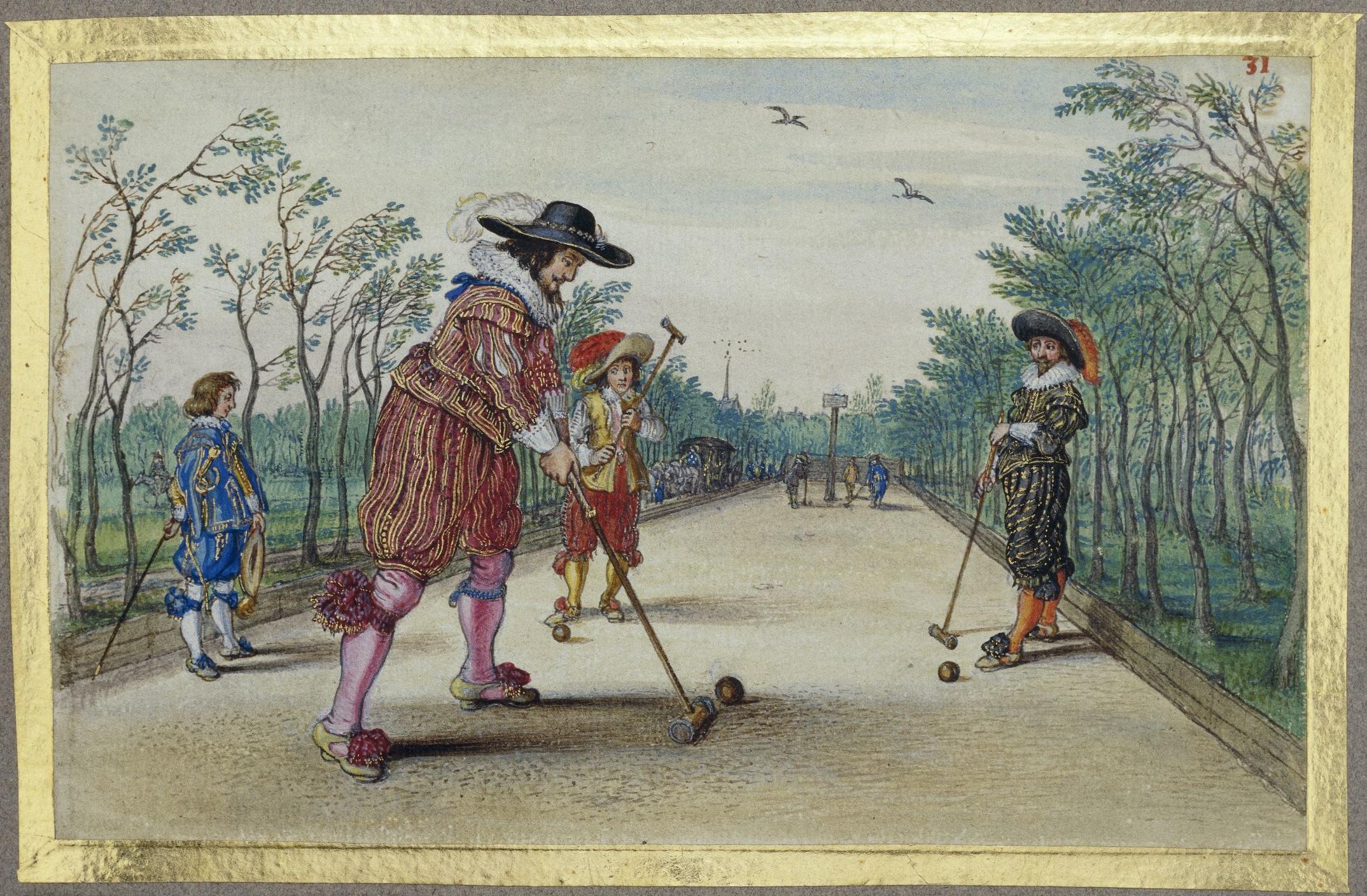 Adriaen van de Venne, Maliespel. Ca. 1620-1626